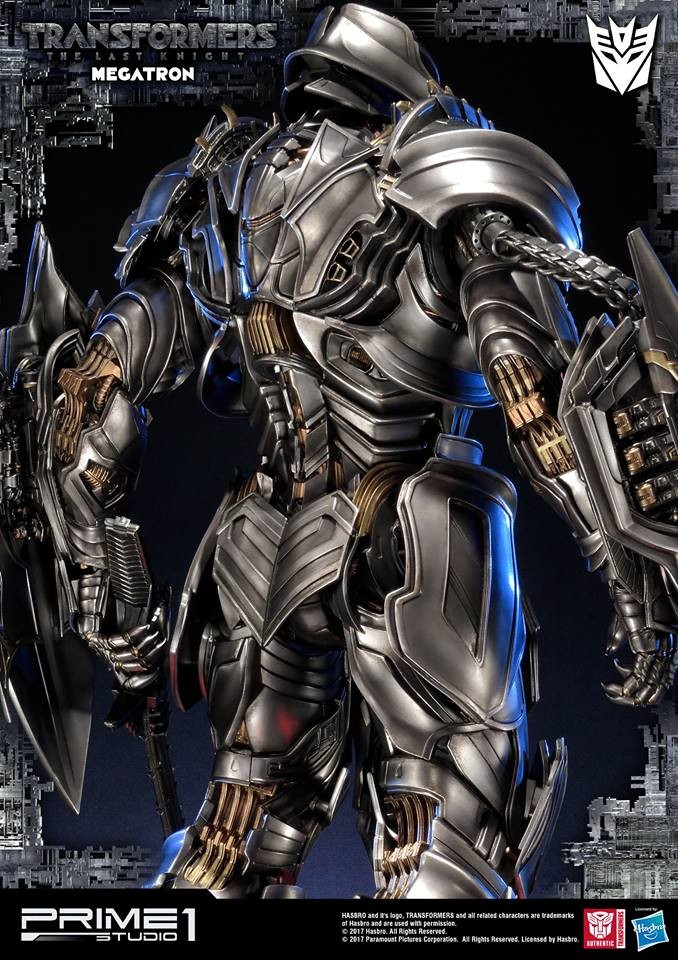 Transformers News: Images of Prime 1 Studio Transformers: The Last Knight MMTFTM-17 Megatron