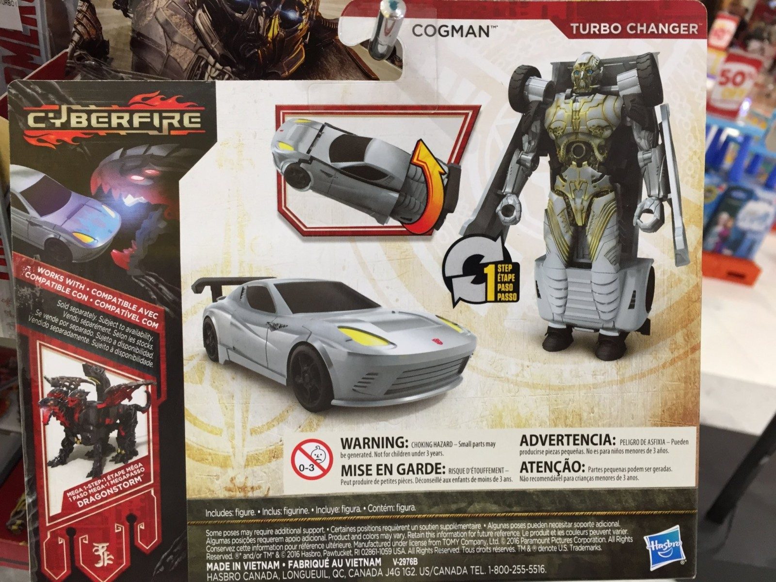 Transformers News: First Images of One Step Turbo Changer Scorn and Cogman from Transformers: The Last Knight