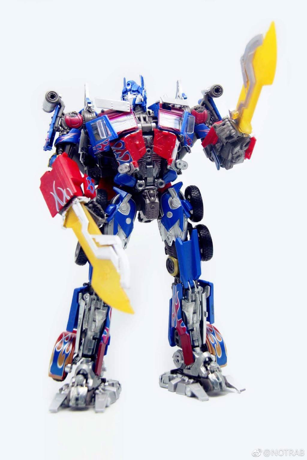 Transformers News: In-Hand Images of Transformers Movie Masterpiece Optimus Prime