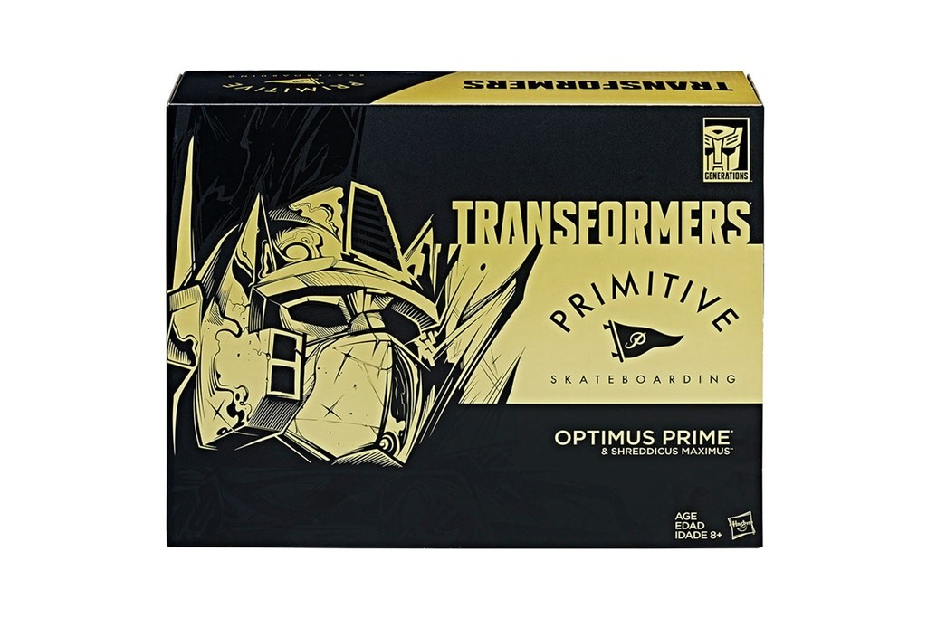 Transformers News: Primitive Skateboarding Black Power Master Optimus Prime to be 2017 SDCC Exclusive