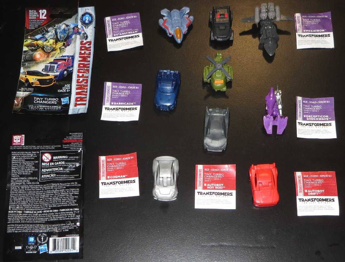 Transformers News: First Image of Tiny Turbo Changer Shockwave's Alt Mode and Sqweeks Missing From Wave 2 Cases