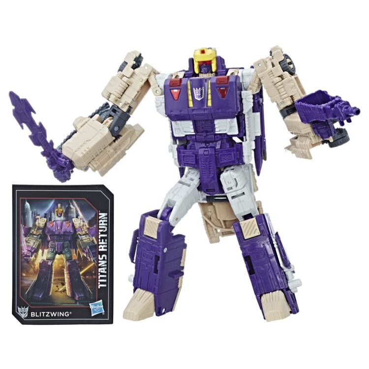 Transformers News: Pre-Orders for Transformers Titans Return Voyagers Blitzwing and Octone Online