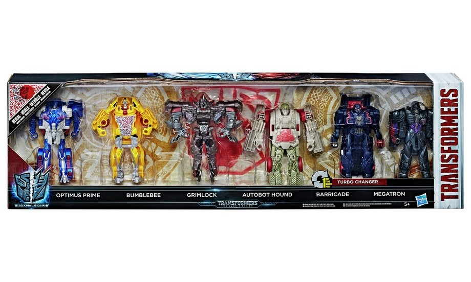Transformers News: Transformers: The Last Knight Reveal the Shield Optimus Prime, 1-Step 6-Pack In Stock on Argos