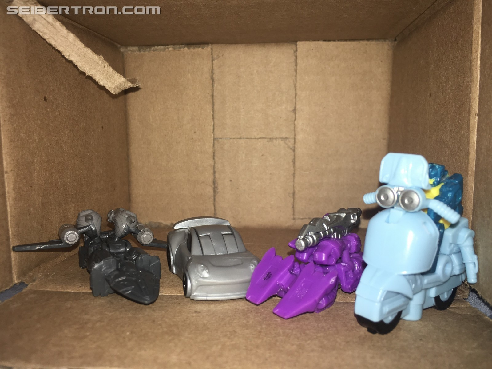 Transformers News: Tiny Turbo Changers Sqweeks and the Rest of Series 2 from Transformers: TLK Found at US Retail