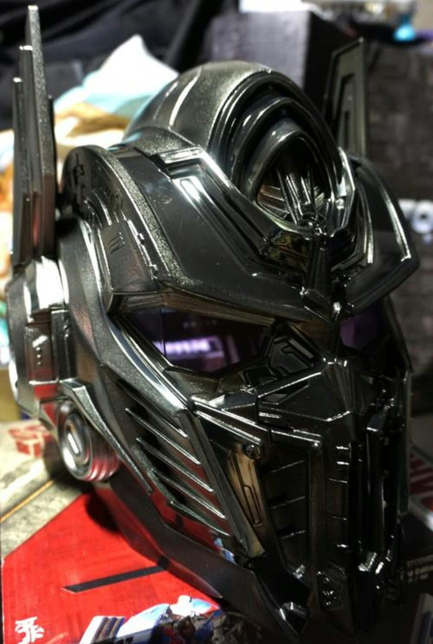 Car Giveaway 2017 >> In hand Images of Transformers: The Last Knight Limited Edition Nemesis Prime Voice Changer ...