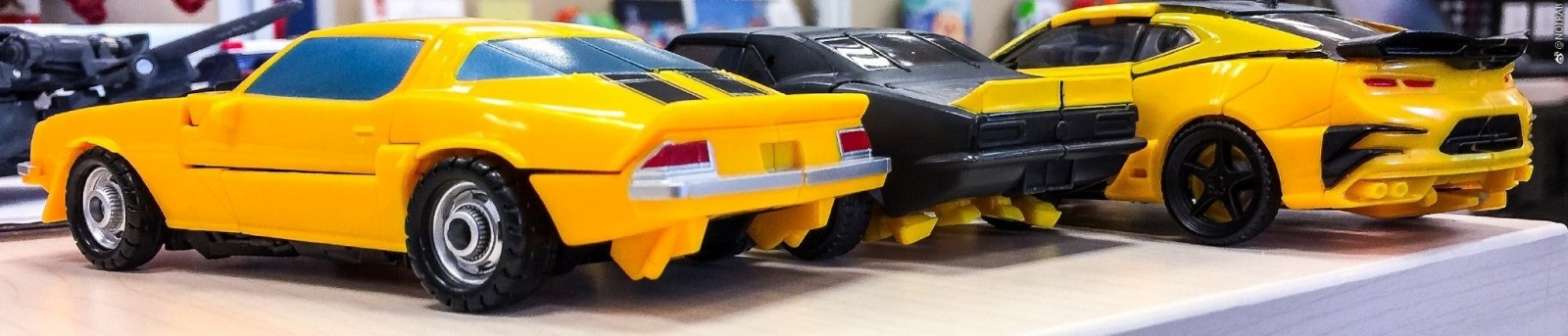 Transformers News: First Image of Car Modes from Transformers Bumblebee Evolution Three Pack