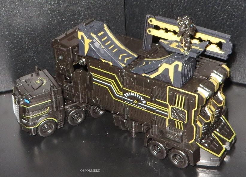 Transformers News: Pictorial Review of Primitive Skateboarding x Transformers Optimus Prime and Shreddicus Maximus