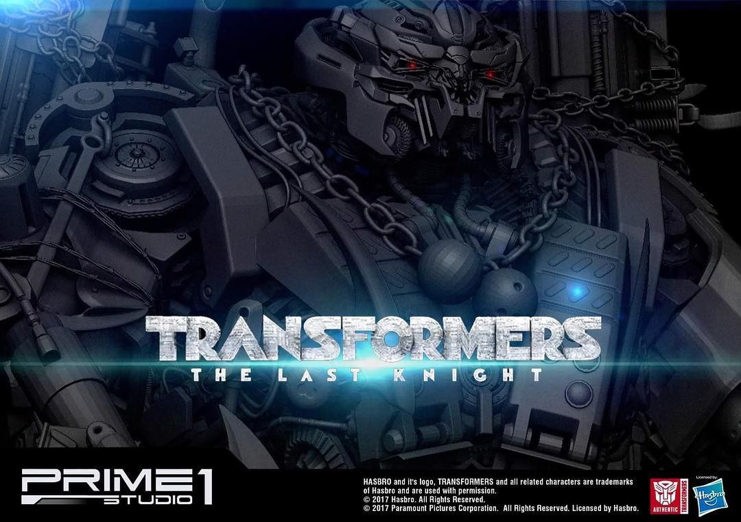 Transformers News: New Teaser for Prime 1 Studio Transformers: The Last Knight Onslaught