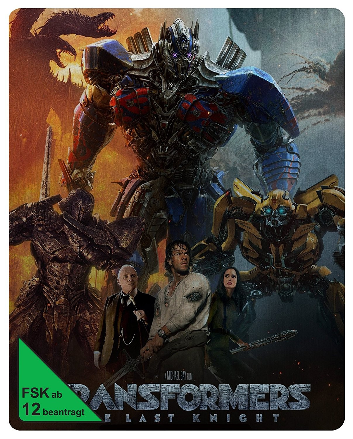 Transformers News: Details on Transformers: The Last Knight Home Release Options