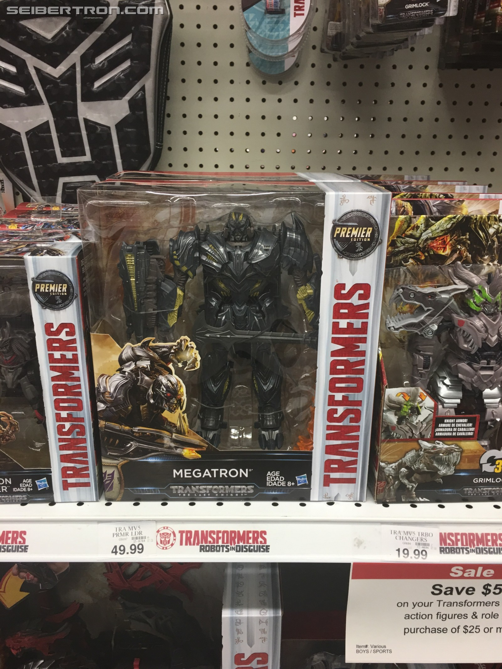 Transformers News: New Transformers: The Last Knight Toys Hitting Mass Retail in the US