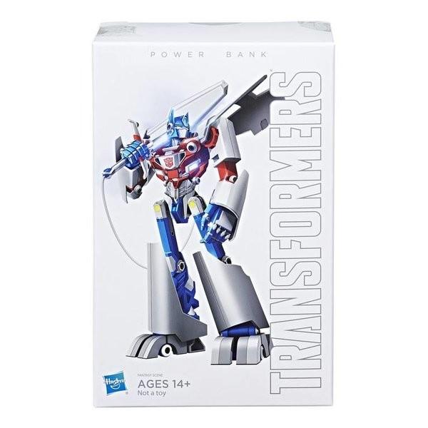 Transformers News: Packaging for Hasbro/Xiaomi Transformers Mi Power Bank Optimus Prime
