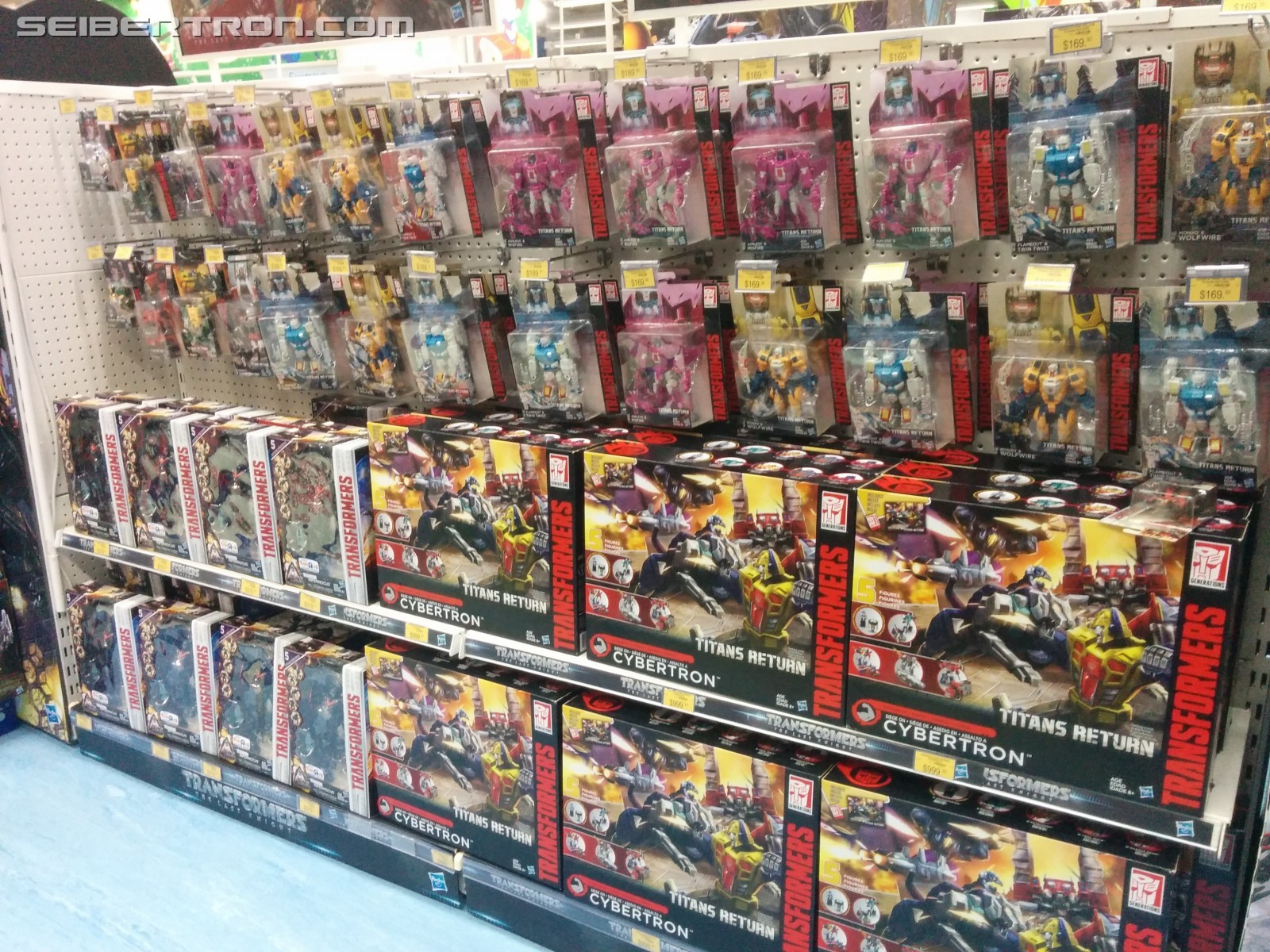 Transformers News: Transformers Titans Return Siege on Cybertron, Wave 5 Found at Hong Kong Retail