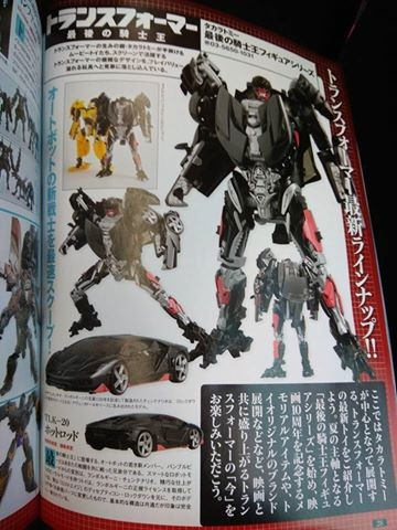Transformers News: Figure King #234 Images: Takara Hot Rod, Infernocus, Bumblebee Evolution Three-Pack, and More