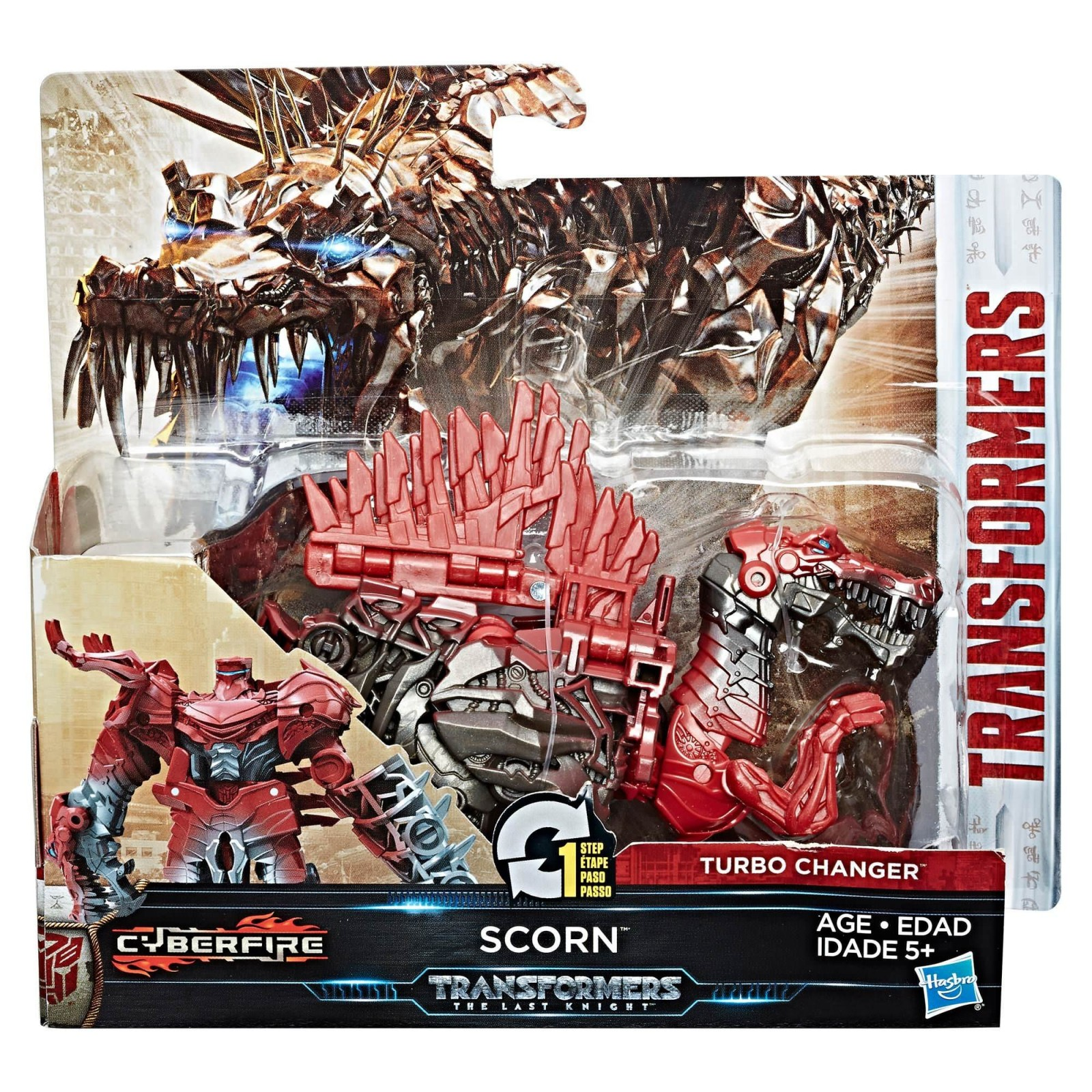 Transformers News: New Official Image for One Step Scorn and Other Turbo Changers from Transformers: The Last Knight