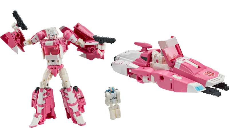 Transformers News: Titans Return Arcee & Ultra Magnus Titan Master revealed as Hascon exclusive