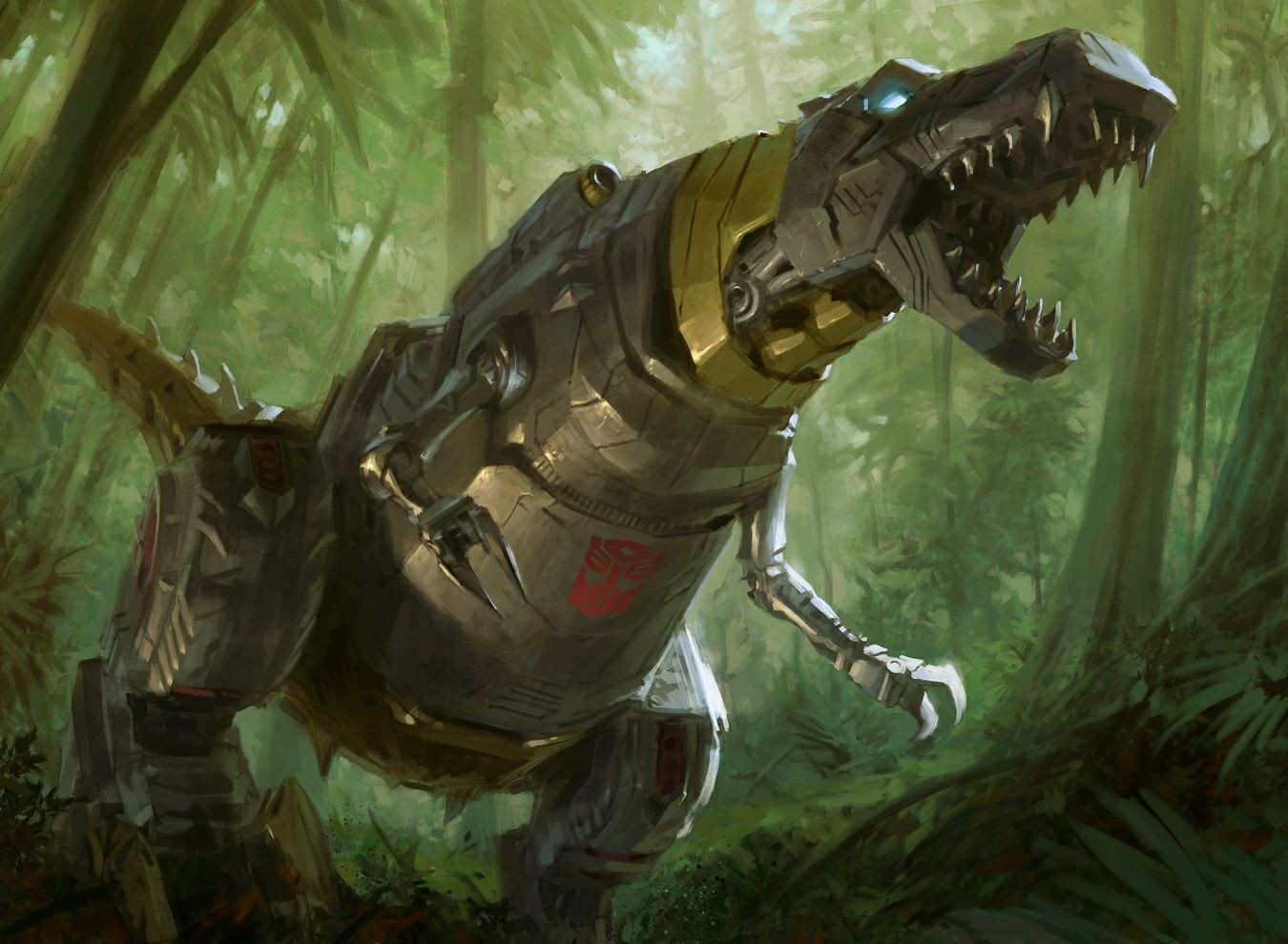 Clean Art For Hascon 2017 Magic The Gathering Grimlock By