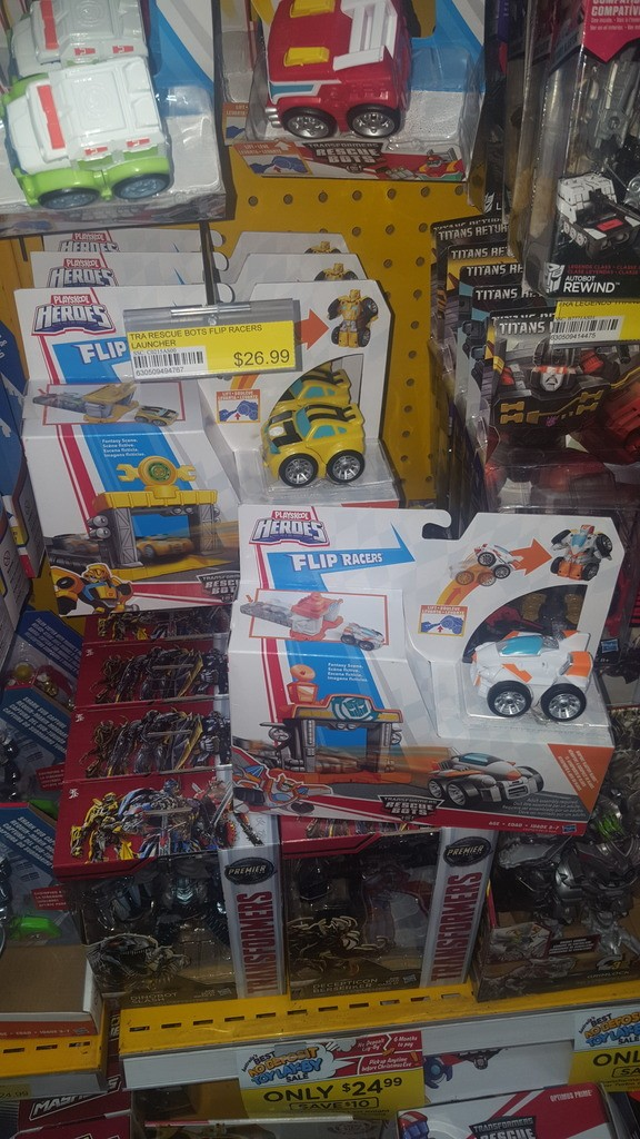 Transformers News: Latest Transformers Rescue Bot Toys Found in Australia