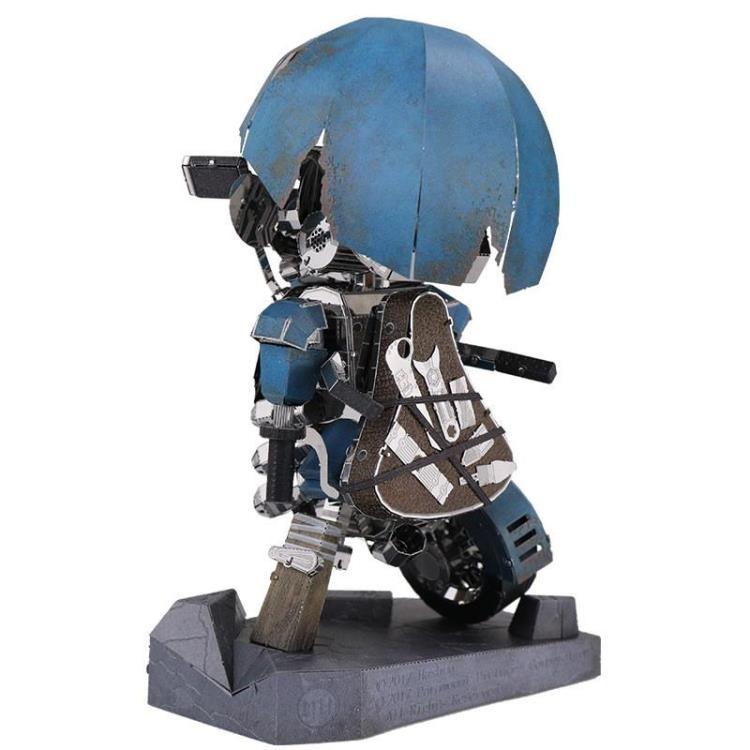Transformers News: New Transformers 3D Metal Model Kits from MU