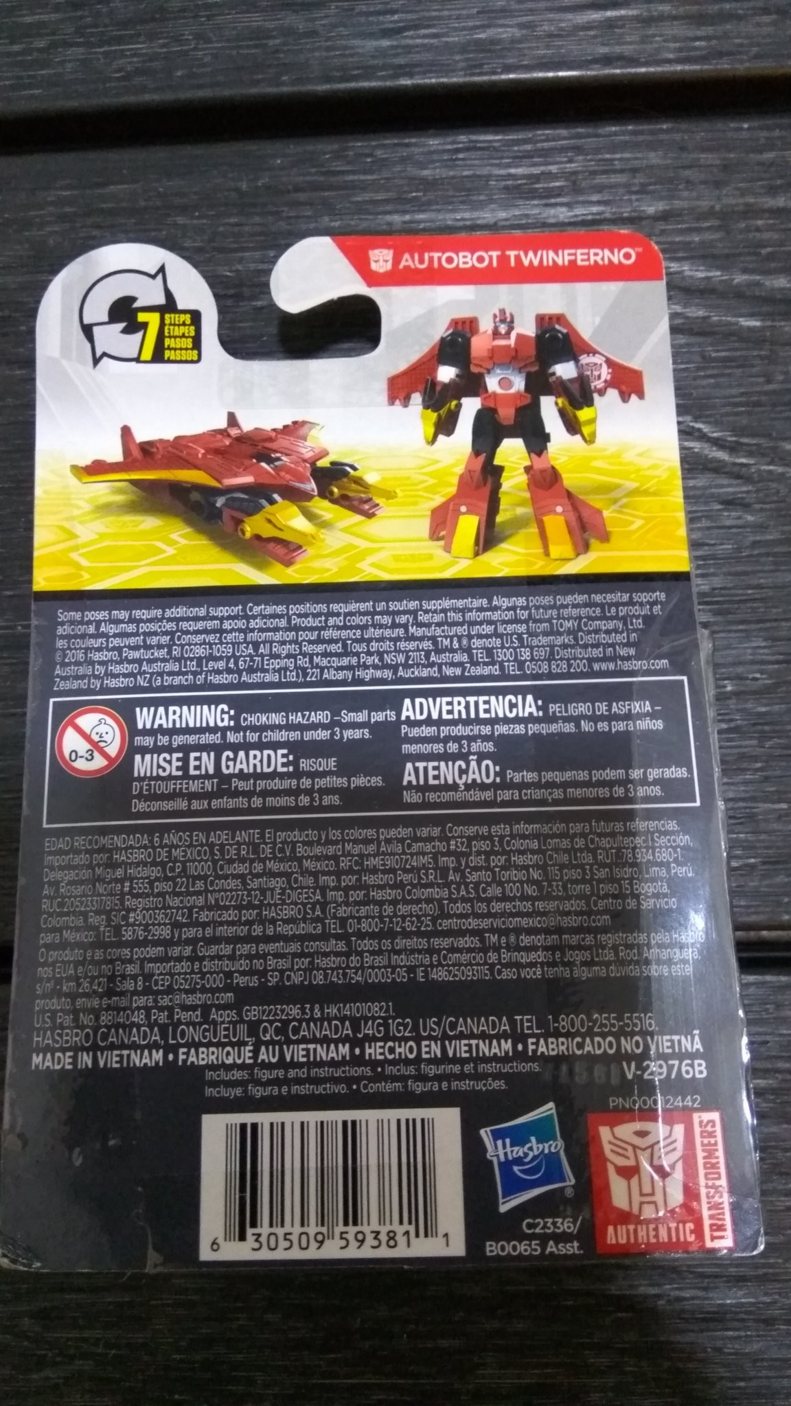 Transformers News: Legion Twinferno from Transformers: Robots in Disguise Found in Singapore and Packaging Images