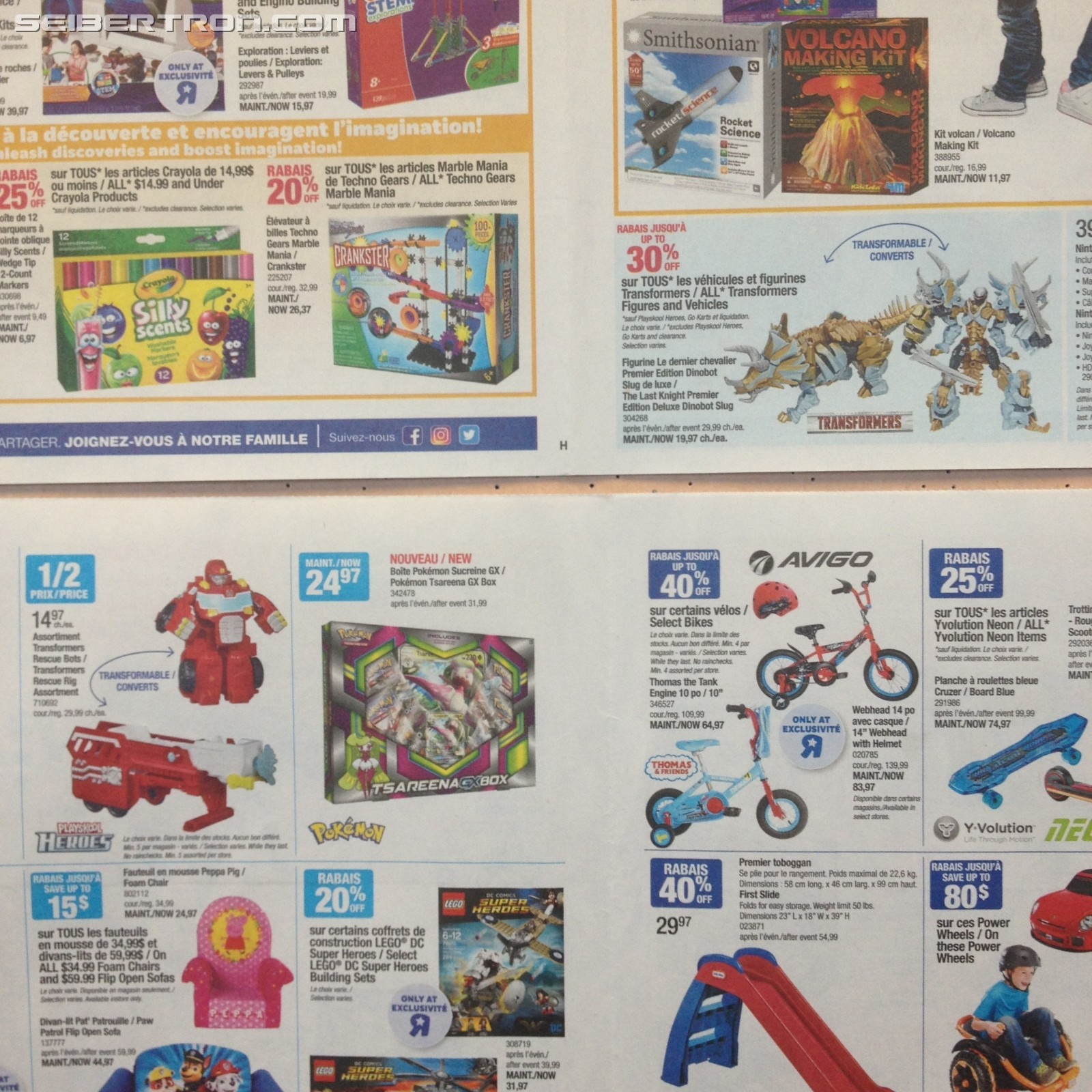 Transformers News: Up to 30% off on Transformers this Week at Toysrus Canada