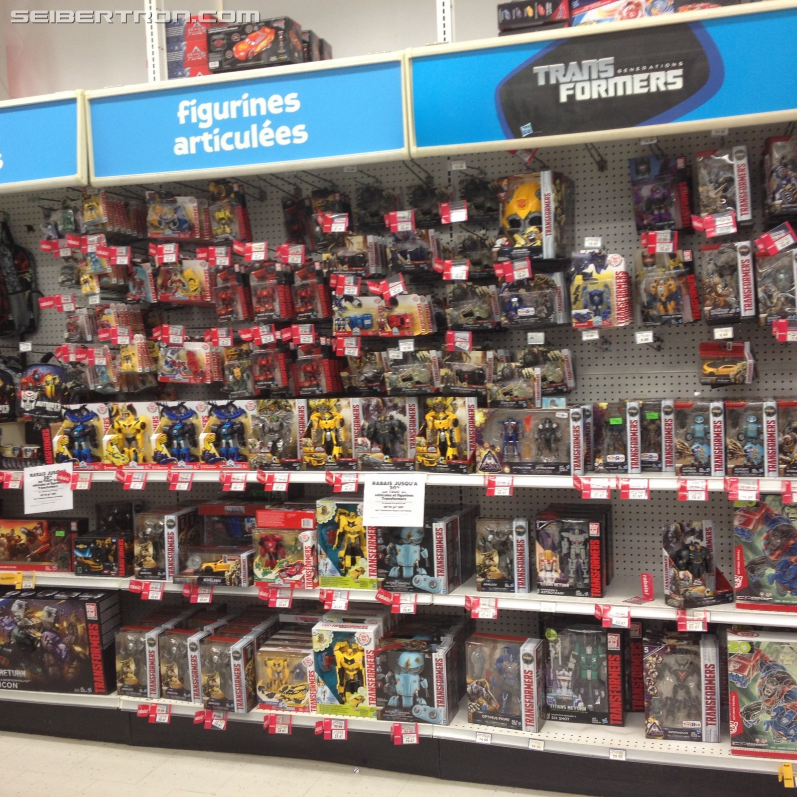 Toy R Us Toy Herobrine : Up to off on transformers this week at toysrus canada