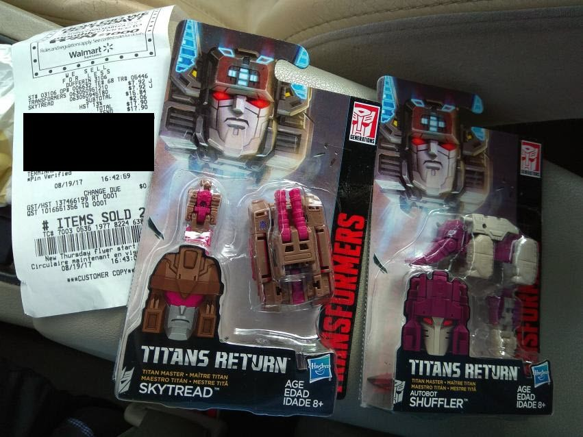 Transformers News: Titans Return Repugnus and Shuffler Finally Found at Wide Retail in Canada
