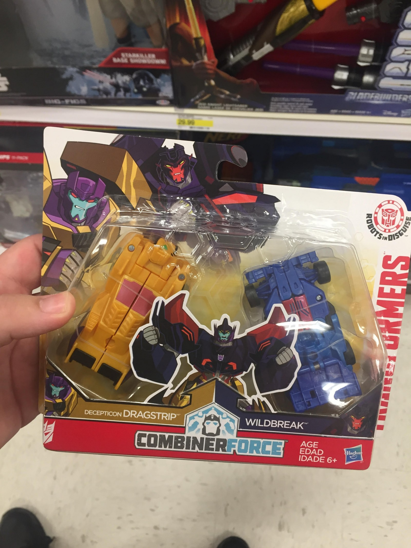Transformers: Robots in Disguise Dragbreak, Shocknado and Lunar ...