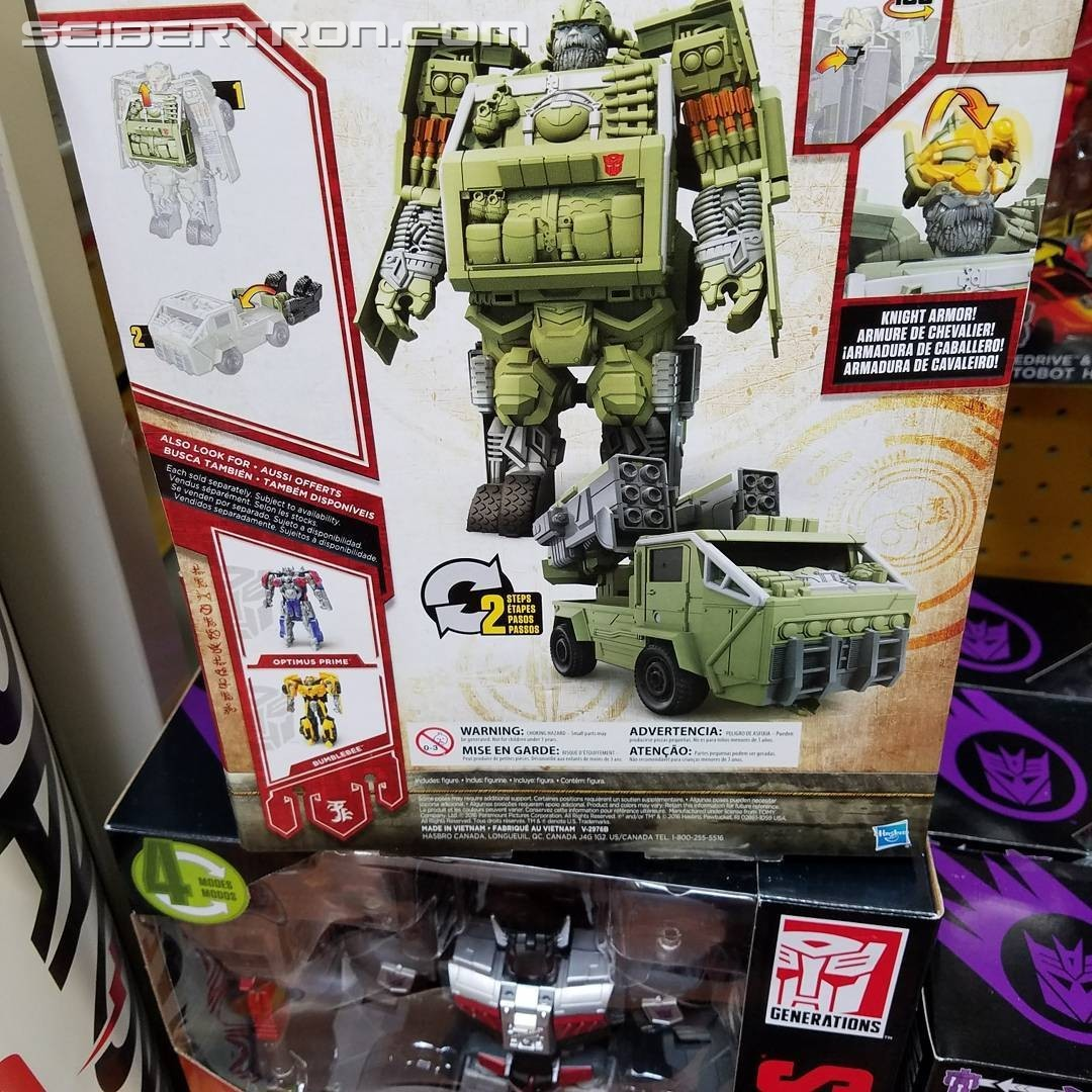 Transformers News: Knight Armor Turbo Changer Hound from Transformers: The Last Knight Finally Out at US Retail