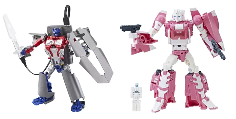 Transformers News: Hascon exclusive Power Bank Optimus Prime & Titans Return Arcee available on Hasbro Toy Shop