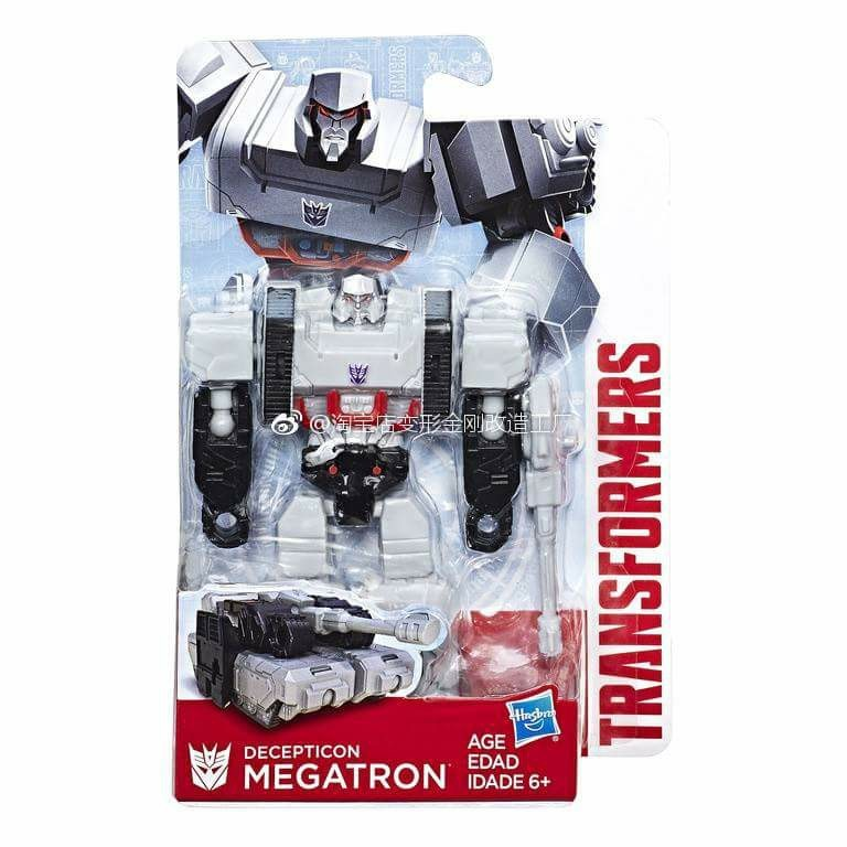 Transformers News: New Transformers Evergreen Line Starscream and Megatron Revealed and In-Package Images