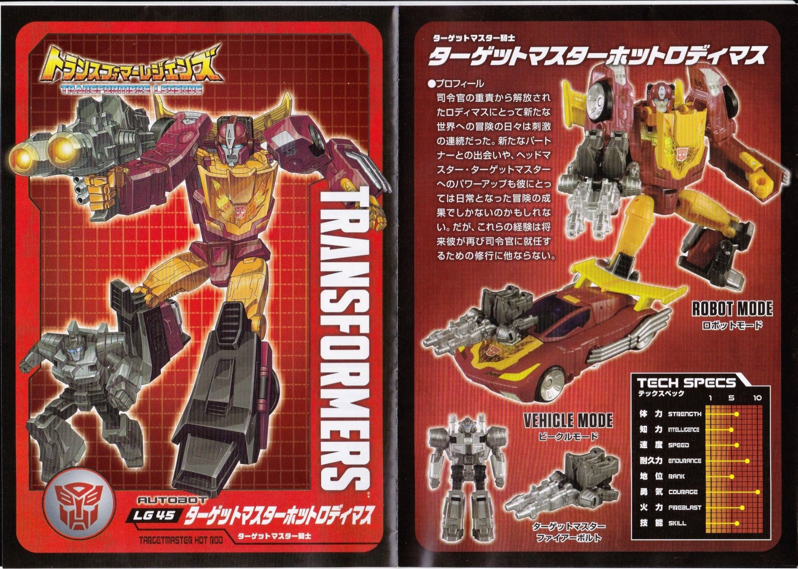 Transformers News: Images of Pack In Comics and Tech Specs for Takara Transformers Legends Kup, Hot Rod and Sharkticon