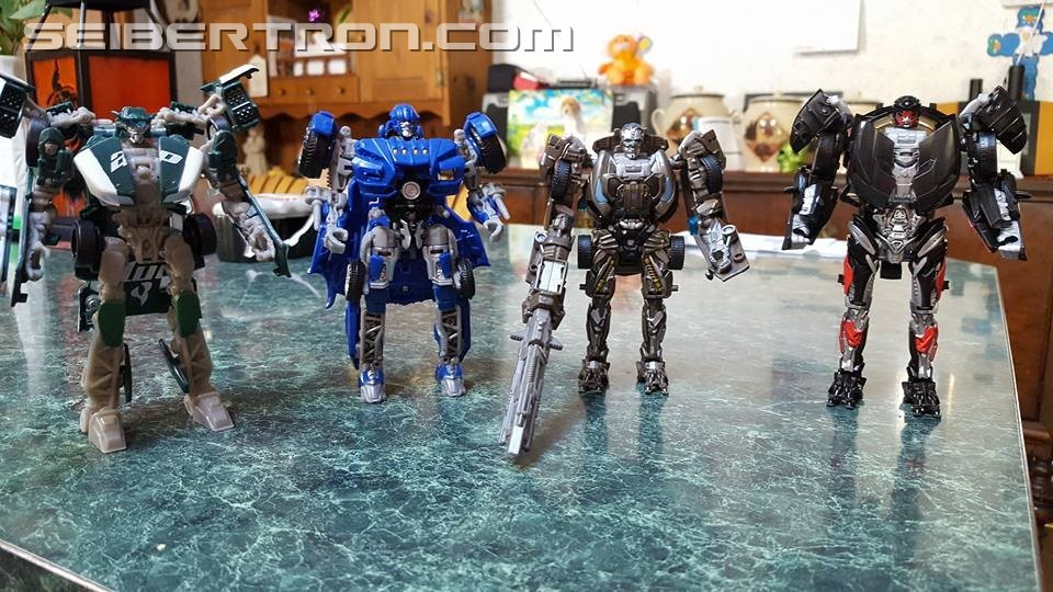 Transformers News: Pictorial Review of Transformers: The Last Knight Deluxe Class Hot Rod