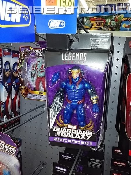 Transformers News: Marvel Legends Death's Head II Sighted Again at US Retail