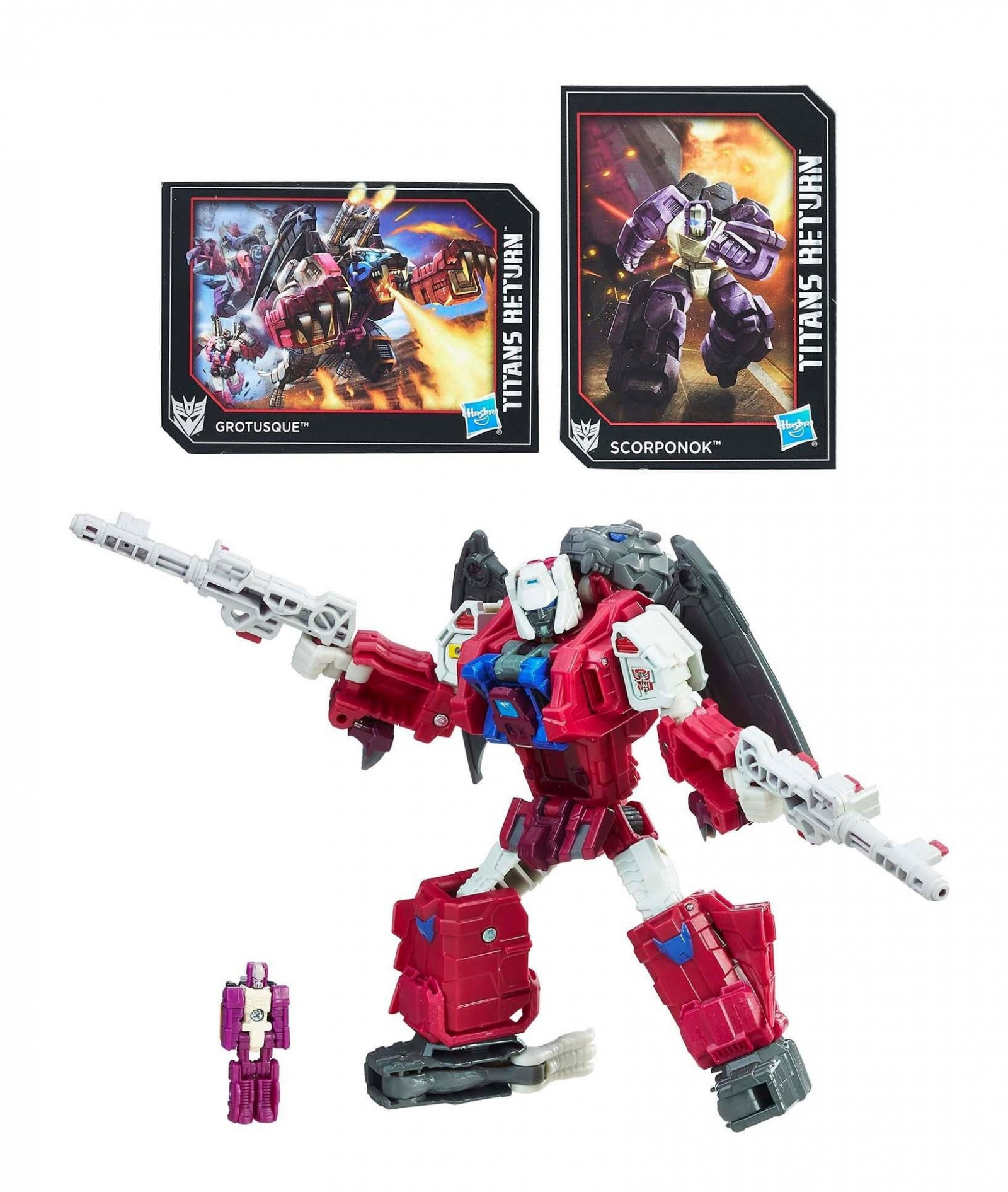 Transformers News: NYCC 2017: Titans Return Grotusque revealed and now available!