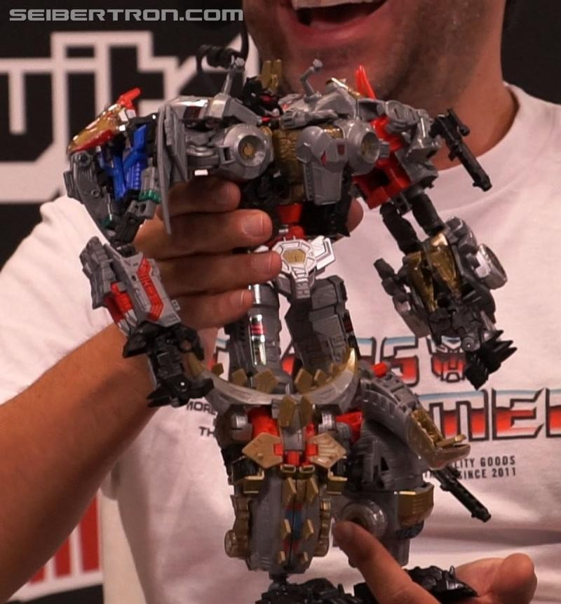 Transformers News: NYCC 2017: Gallery for painted Power of the Primes Volcanicus figure revealed