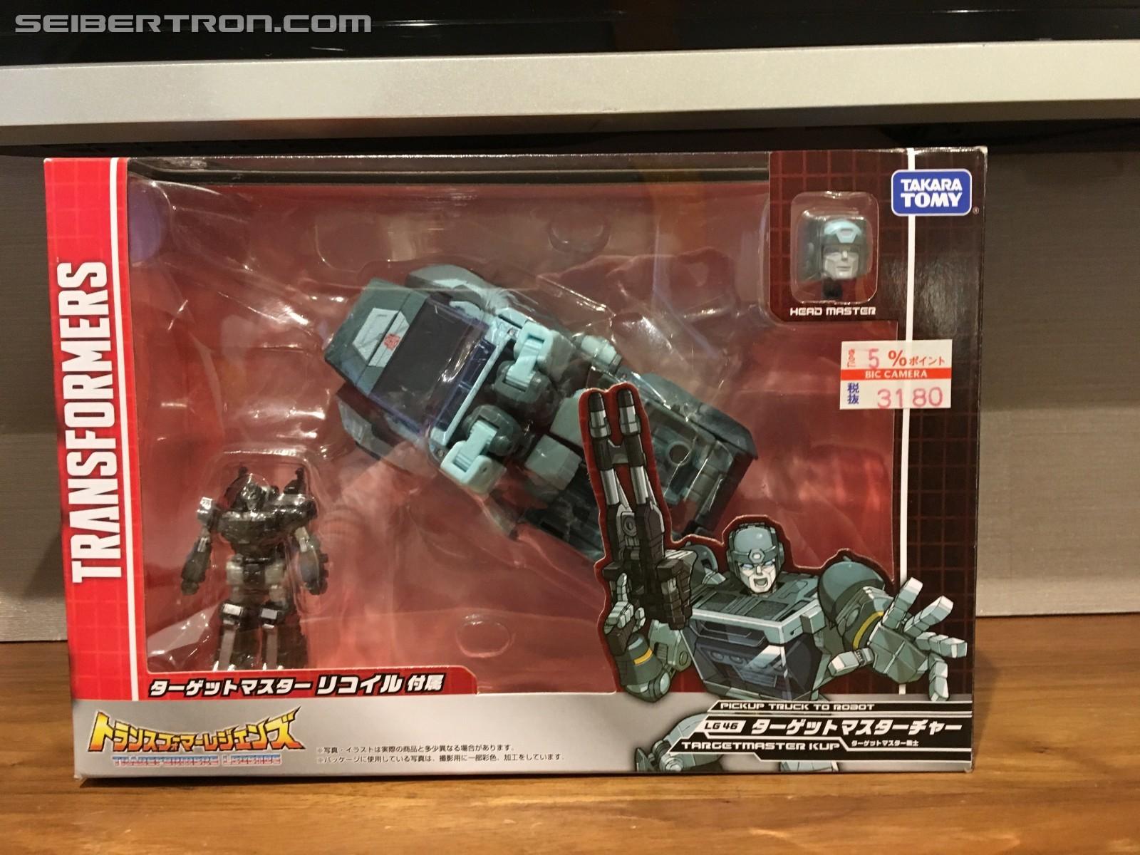Transformers News: Takara Tomy Transformers Legends LG44 Sharkticon, LG45 Hot Rod, LG46 Kup