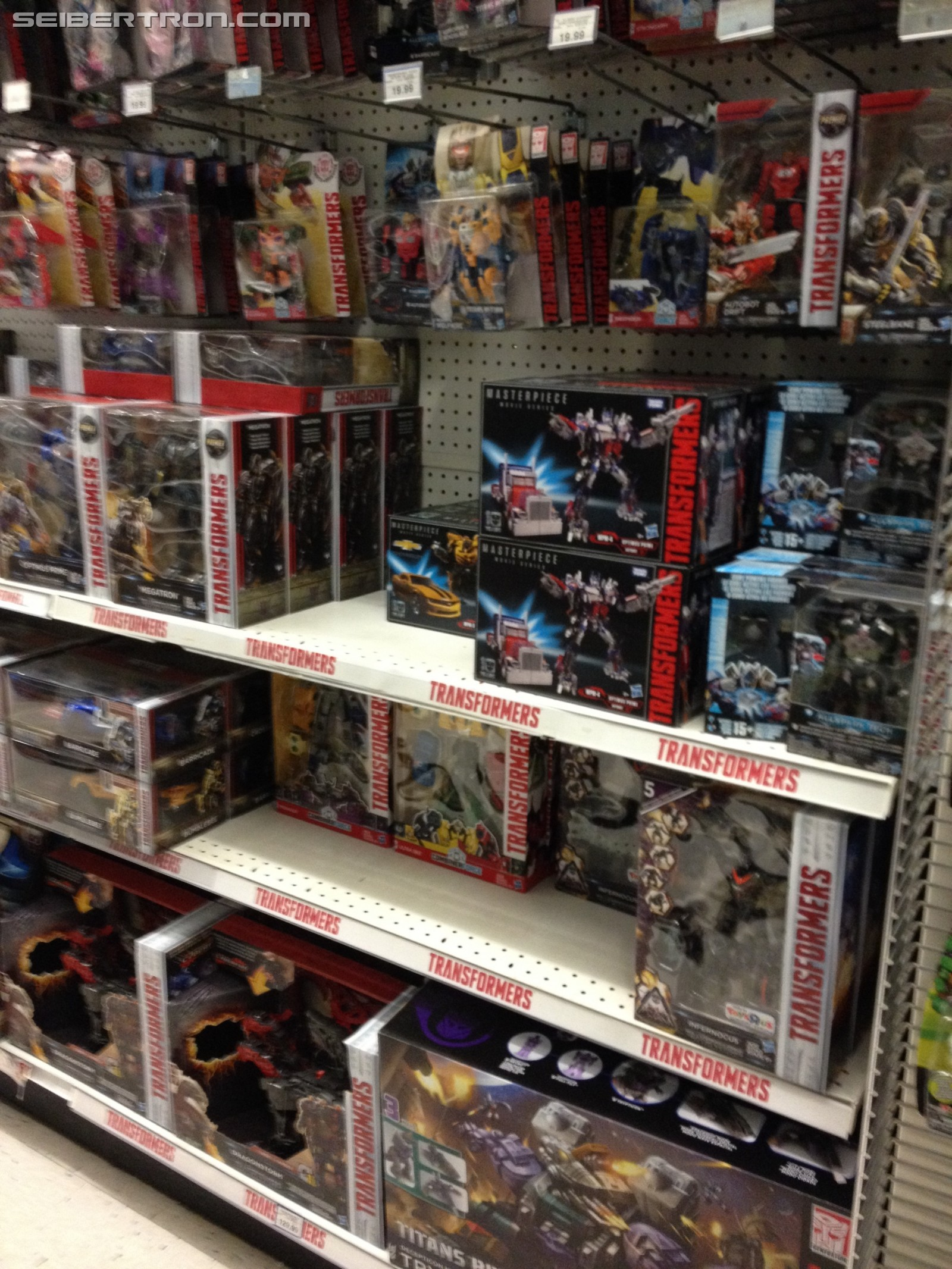 Transformers News: Fall Restock in Full Swing at Toysrus Canada with Full Aisle Dedicated to Transformers