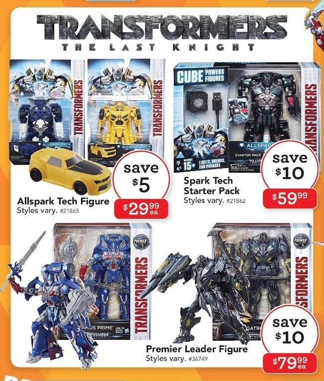 Transformers News: Australian Transformers Toy Sales Round-Up: Target, Toys'R'Us, Myer