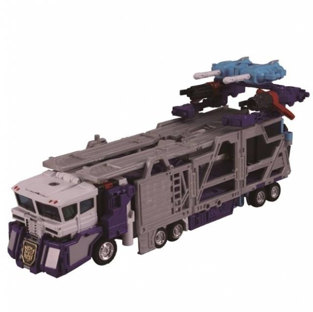Transformers News: Official Images of Takara Tomy Transformers Encore God Fire Convoy (RID Omega Prime)