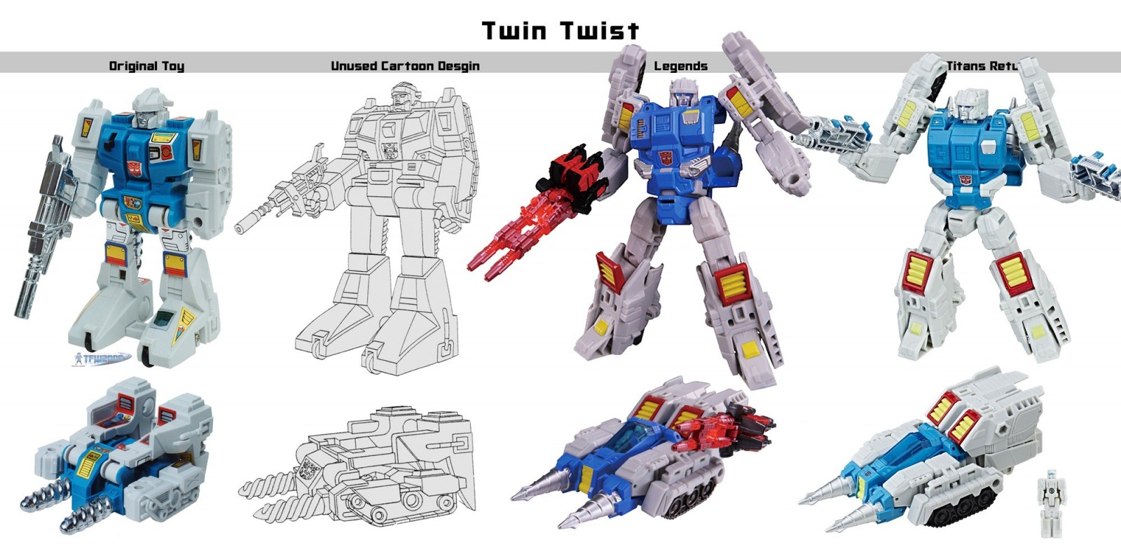Takara TOMY Transformers Legends LG 65 Twintwist