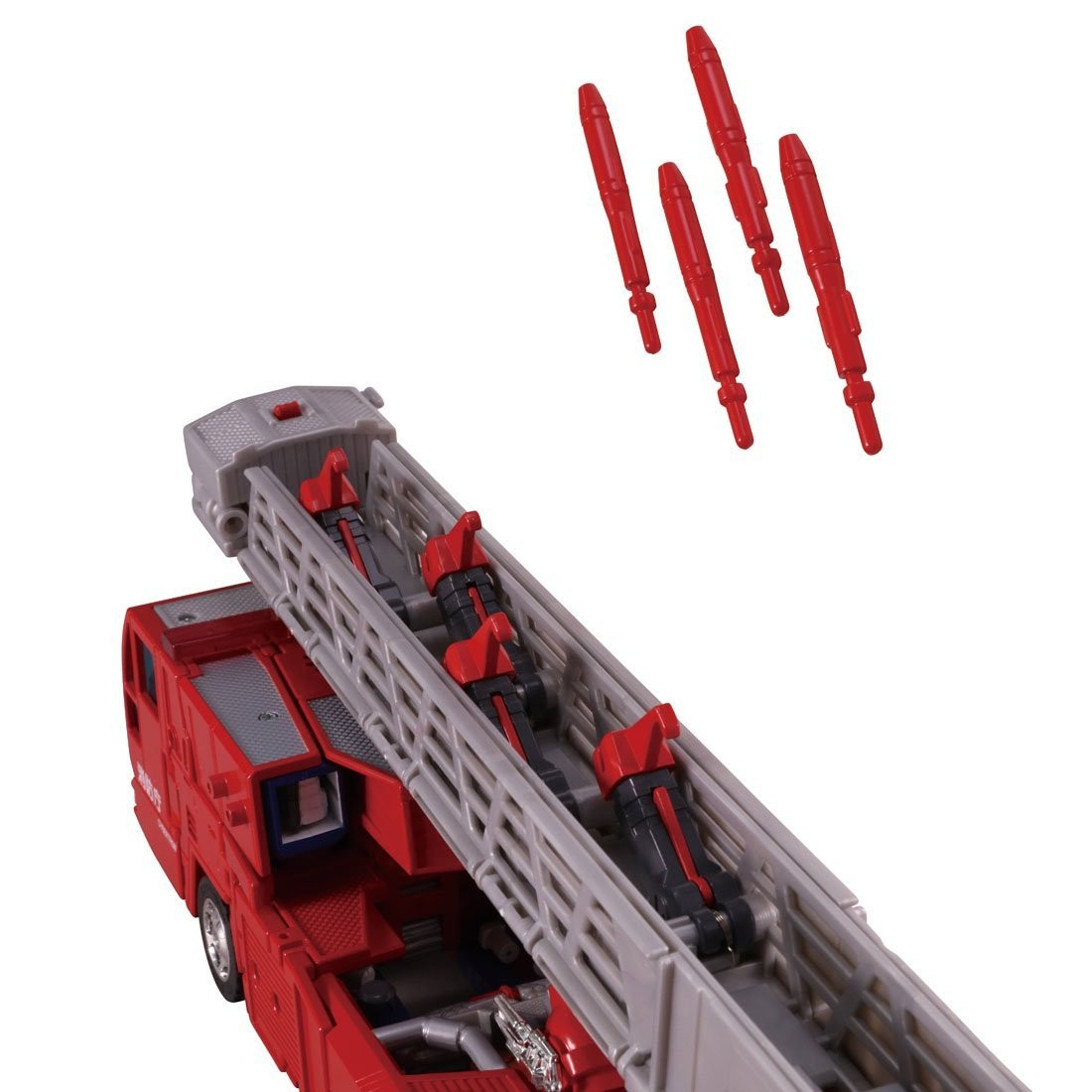Transformers News: More and Higher Quality Images of Takara Transformers Encore God Fire Convoy With God Magnus