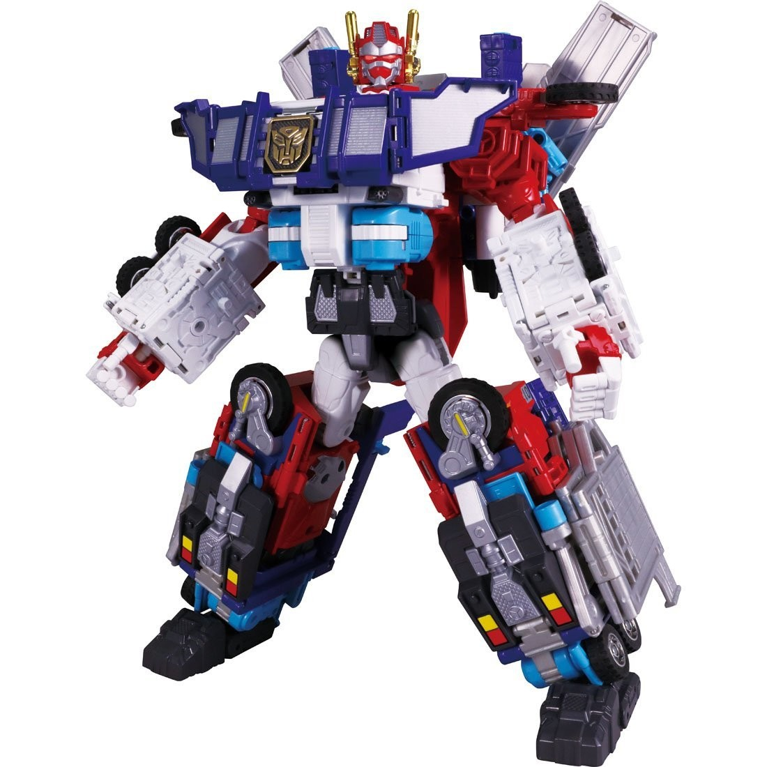 Transformers News: Info on the New Electronics and Extras in Takara Transformers Encore God Fire Convoy Release