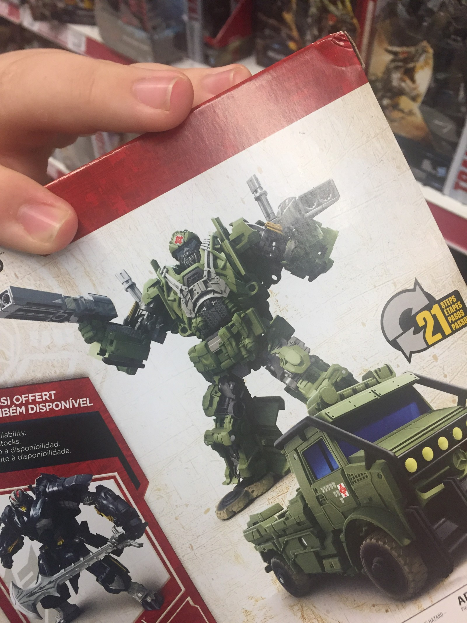 Transformers News: Transformers: The Last Knight Hound Deco Variant Found