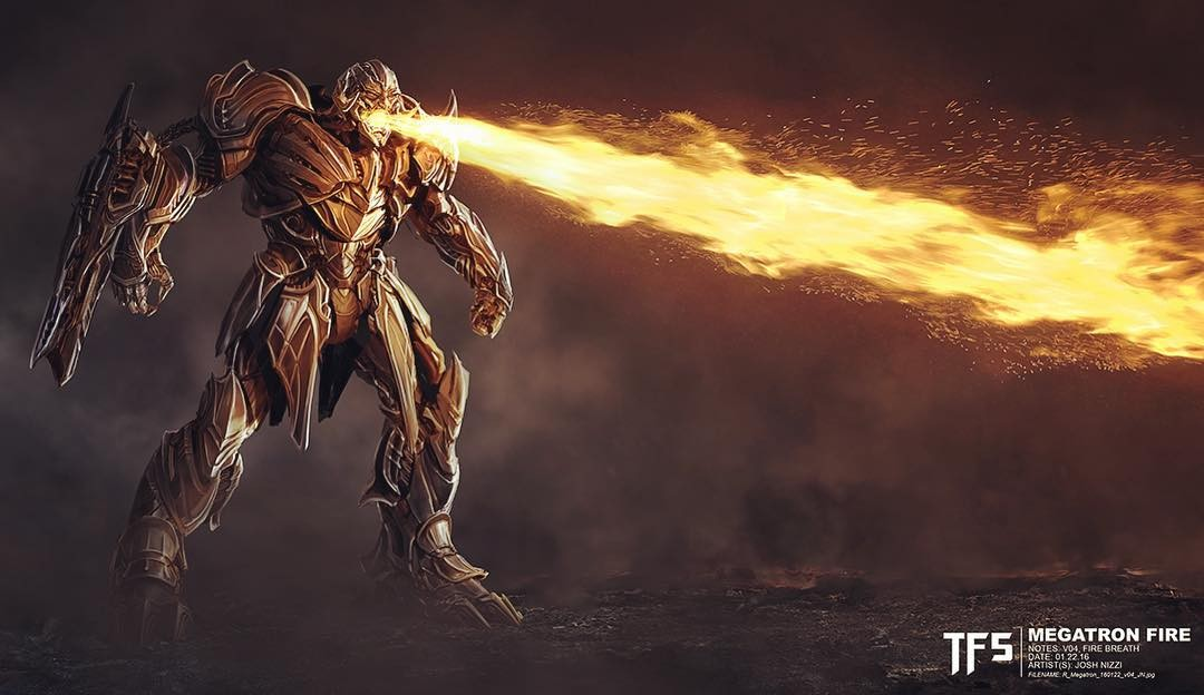 fire breathing megatron and more concept art from transformers the