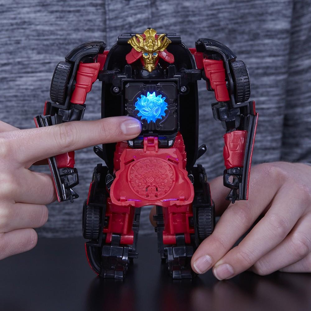 Transformers News: Transformers: The Last Knight Allspark Tech Hound, Barricade, Drift at UK Online Retail