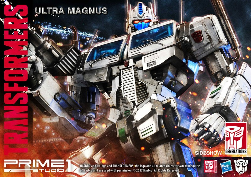 Transformers News: Prime 1 Studio Generation 1 Ultra Magnus