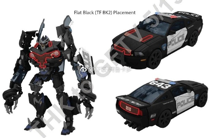 Transformers News: New Images of Transformers Movie Masterpiece MPM-5 Barricade