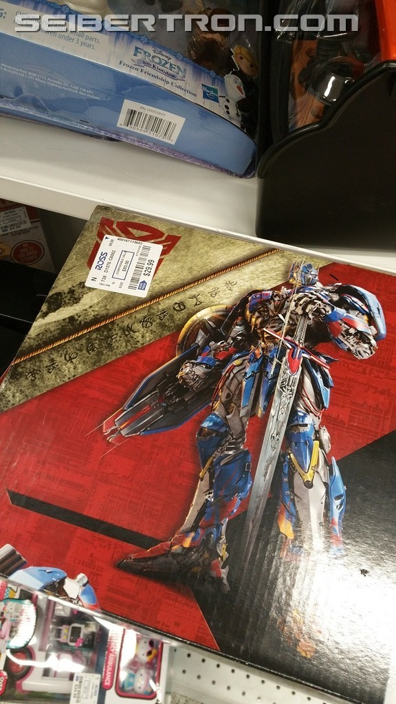 Transformers News: Transformers: The Last Knight Optimus Prime Voice Changing Helmet Found at Ross for $29.99