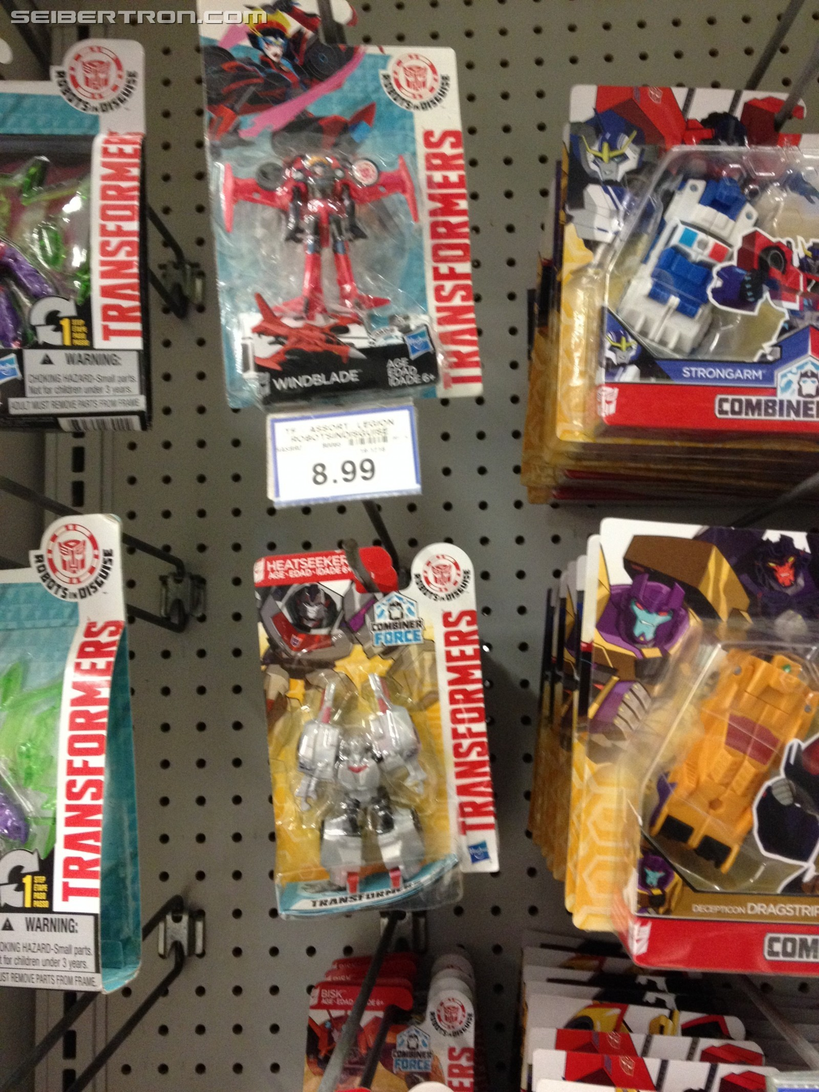 Transformers News: Robots in Disguise Legions Class Heatseeker and Cyclonus Found in Canada