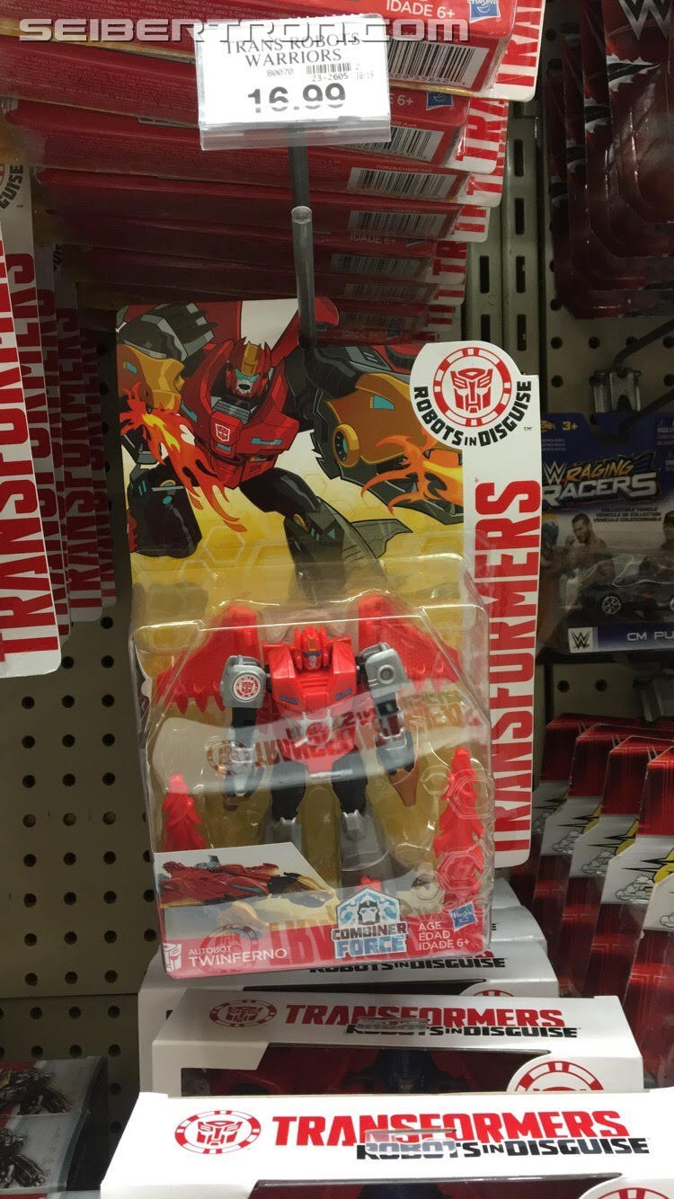 Transformers News: Transformers: Robots in Disguise Products Warrior Twinferno Found at US Retail